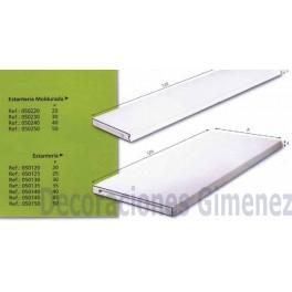 ESTANTERIA DE ESCAYOLA120X50X4